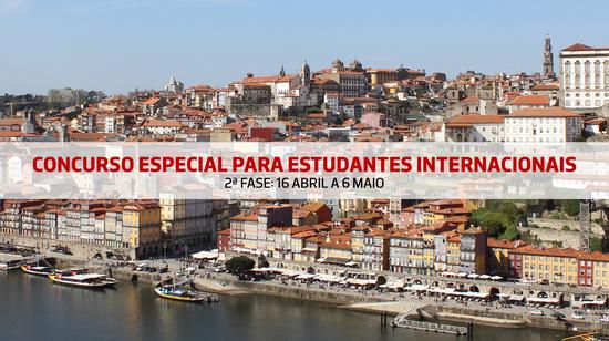 Concurso Especial para Estudantes Internacionais