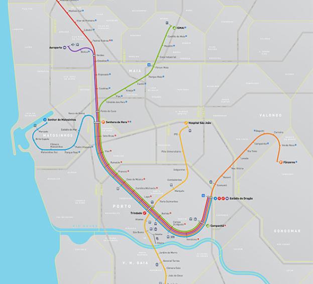 mapa transportes porto Como chegar ao ISCAP — ISCAP | P.PORTO mapa transportes porto